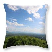 The Presidential Range From Mount Prospect Throw Pillow