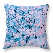 The Pretty Blooming Throw Pillow