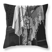 The Priestly Blessing Throw Pillow