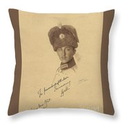 The Prince Kyrill  Of Bulgaria Throw Pillow