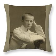 The Prince Oleg Konstantinovich  Throw Pillow
