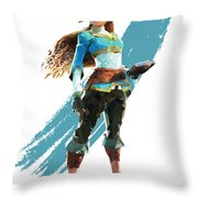 The Princess Of Hyrule Throw Pillow