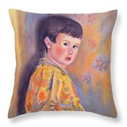The Print Dress Throw Pillow