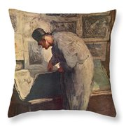 The Print Lover Throw Pillow