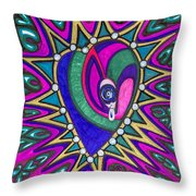 The Private Eye Throw Pillow