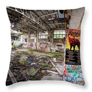The Prodigy In Berlin Throw Pillow