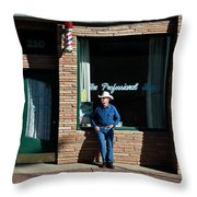The Professional Throw Pillow