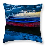The Promise Of Adventure Throw Pillow