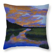 The Promise Of Night Throw Pillow