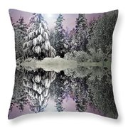 The Promises That Winter Brings Throw Pillow