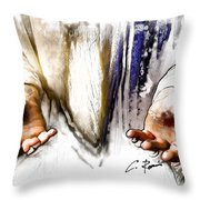 The Proof Throw Pillow by Charlie Roman