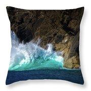 The Pulse Of Cabo San Lucas Throw Pillow