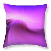 The Purple Wave 0610 Throw Pillow