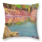 The Quarry Throw Pillow