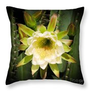 The Queen And Her Crown Throw Pillow