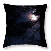 The Queen In Lace  Throw Pillow