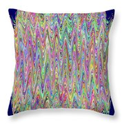 The Queens Crown Throw Pillow
