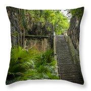 The Queen's Staircase #1 Throw Pillow