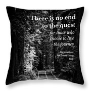 The Quest I Throw Pillow
