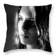 The Question Throw Pillow