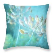 The Quiet Throw Pillow
