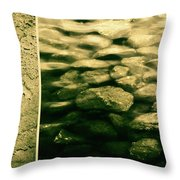 The Quiet Underneath Throw Pillow