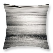 The Quieter You Become The More You Can Hear Throw Pillow