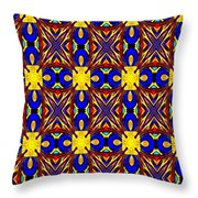 The Quilting Party Throw Pillow
