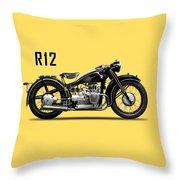 The R12 1935 Throw Pillow