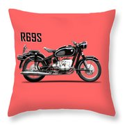 The R69s Throw Pillow