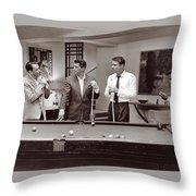 The Ra Pack Sammy Davis Jr, Frank Sinatra Dean Martin Throw Pillow