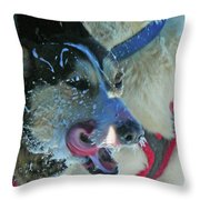 The Race ... Throw Pillow