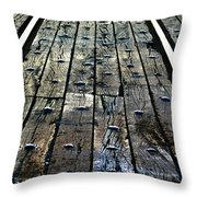 The Rails Throw Pillow