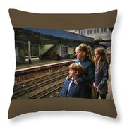 The Railway Children Throw Pillow