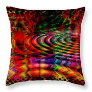 The Rain Forest Throw Pillow