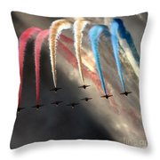 The Rainbow Phoenix Throw Pillow