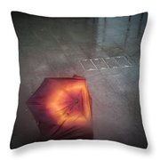 The Rainy Day. Throw Pillow