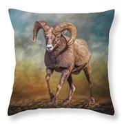 The Ram Throw Pillow