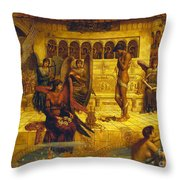 The Ramparts Of God's House Throw Pillow