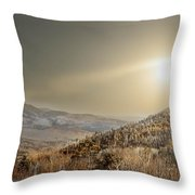 The Range, White Mountains  Throw Pillow