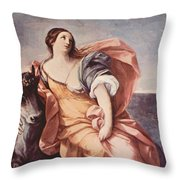 The Rape Of Europa 1639 Throw Pillow
