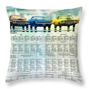 The Rapid Transit System - If You Can't Beat The System Join It. Throw Pillow