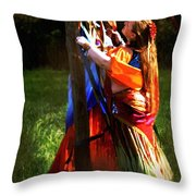 The Readying Ritual Throw Pillow
