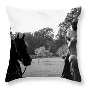 The Real Cowboys Throw Pillow