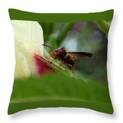 The Real Gardener Throw Pillow