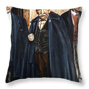 The Real Godfather Throw Pillow
