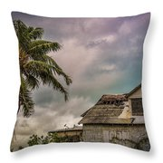 The Real Nassau Throw Pillow