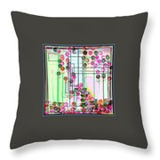 The Reality Of The Unreal Reality In Space Time Throw Pillow