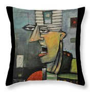 The Realtor Poster Throw Pillow