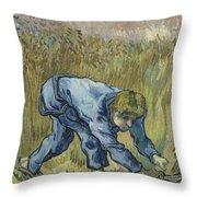 The Reaper After Millet Saint Remy De Provence, September 1889 Vincent Van Gogh 1853  1890 Throw Pillow